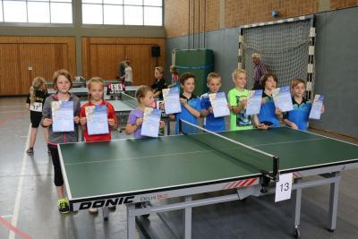 Fotoalbum Verbandsentscheid Minimeisterschaften 2016