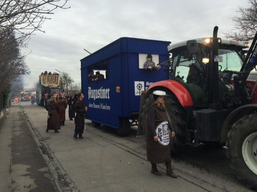 Kath Burschen U Madchenverein Hebertshausen E V Faschingsumzug 2016