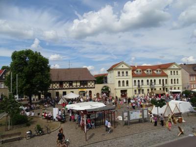 Fotoalbum Historisches Stadtfest am 11. Juni 2016 - 980 Jahre Markt- und Münzrecht
