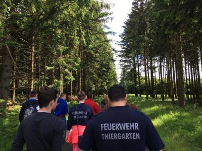 Fotoalbum Wanderung der Feuerwehr Thiergarten