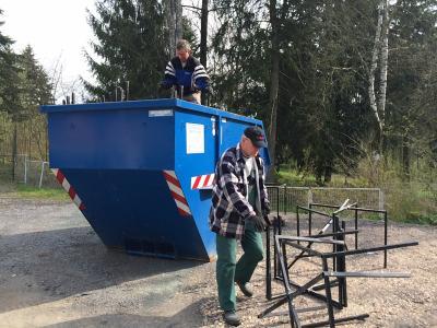 Fotoalbum Frühjahrsputz 2016
