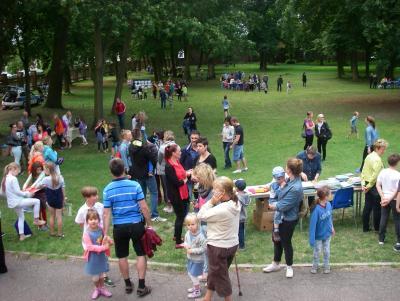Fotoalbum Grundschule Groß Machnow - Sommerfest 2016