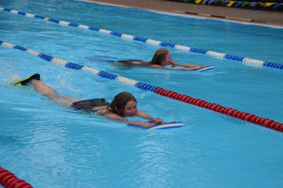 12 Stunden schwimmen
