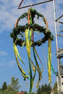 Fotoalbum Richtfest der neuen Stadthalle in Gerbstedt