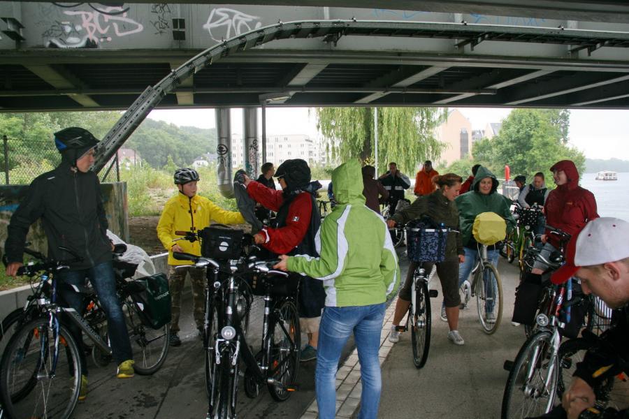 Foto der Galerie: Fanfarenzug Potsdam - Aufs Rad geschwungen