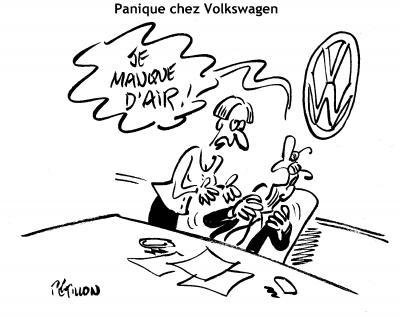 Pétillon - Panik bei Volkswagen