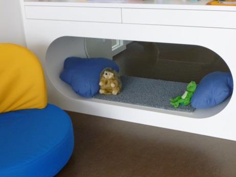 Kuschelhöhle kindergarten  Kinderhaus am Bürgersaal