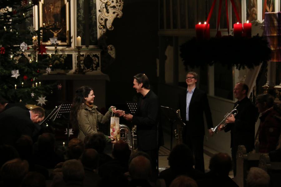 """Foto der Galerie: Konzert mit """"Wirelessbrass"""" am 20.12.2015 in Kremmen"""