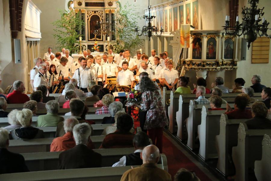 Foto der Galerie: Konzert des Landespolizeiorchesters Brandenburg am 22. Mai in Kremmen