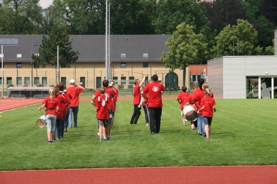 Foto der Galerie: Fanfarenzug Potsdam - Sommerliches Picknick mit Training
