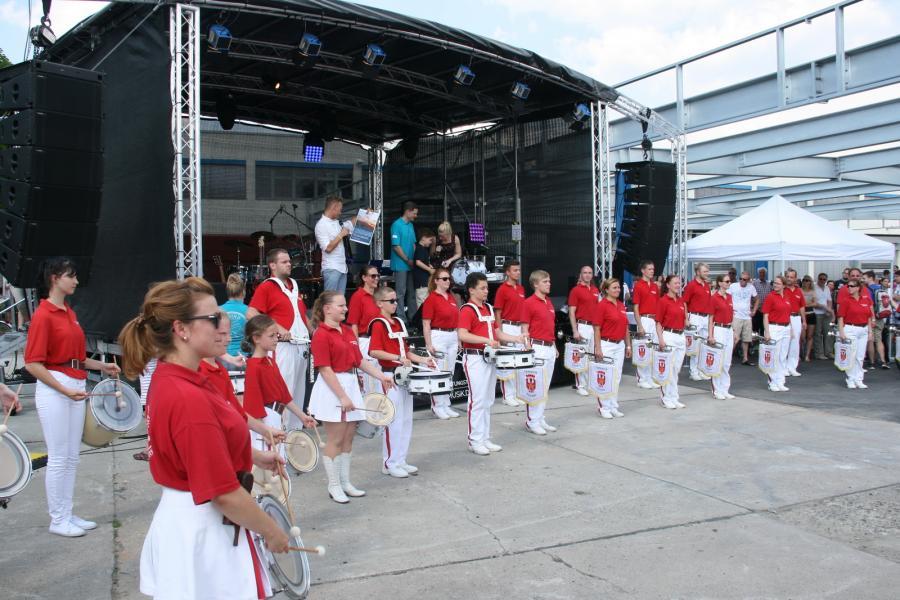 Foto der Galerie: Fanfarenzug Potsdam - MBLU feiert sein Jubiläum und hilft helfen