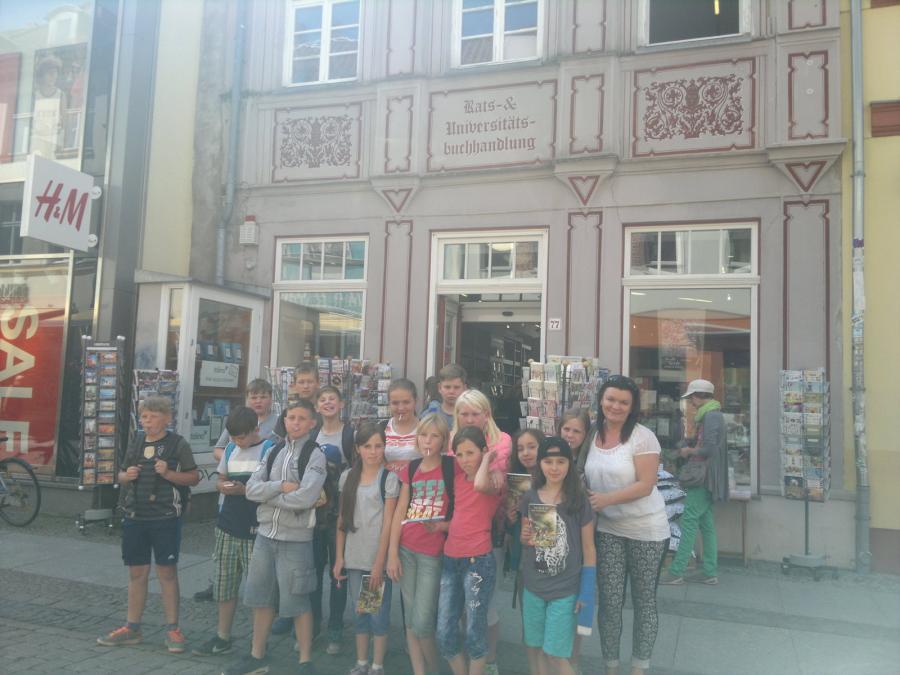 Foto der Galerie: Exkursion der Kl.5a nach Greifswald