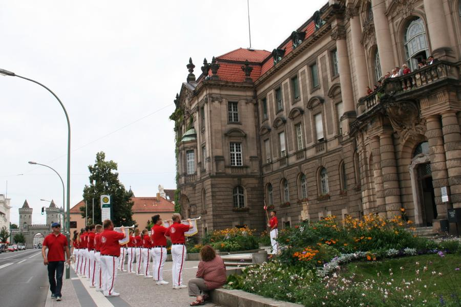 Foto der Galerie: Fanfarenzug Potsdam - Abschied von Frau Müller-Preinesberger