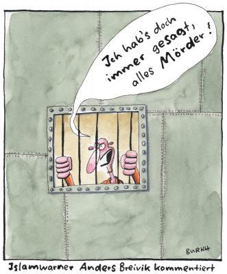 (C) Cartoon von BURKH