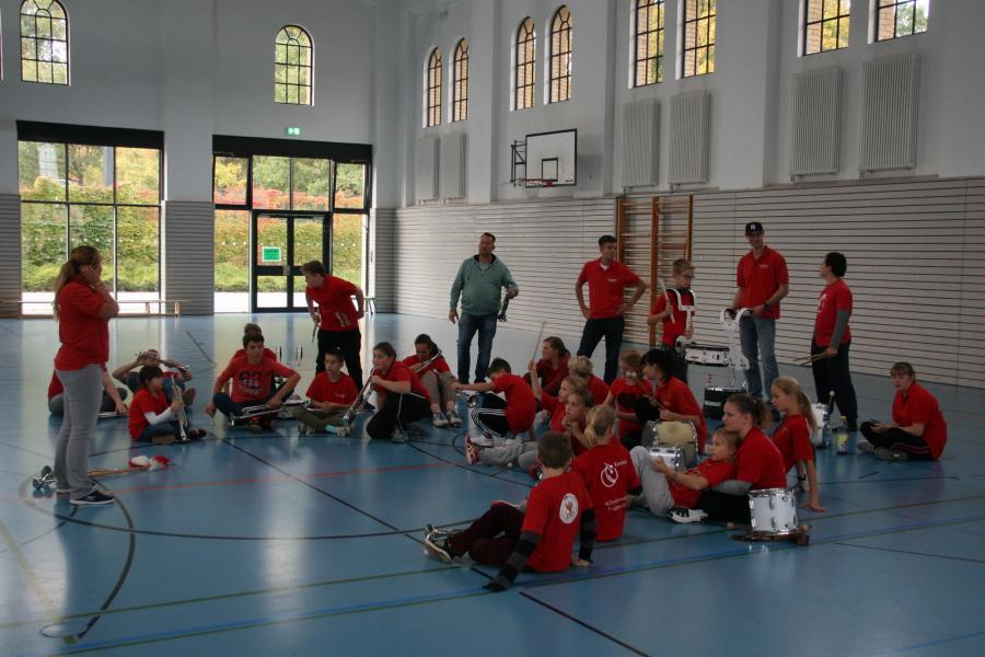 Foto der Galerie: Fanfarenzug Potsdam - Ein ganzer Tag mit Training und viel Spaß