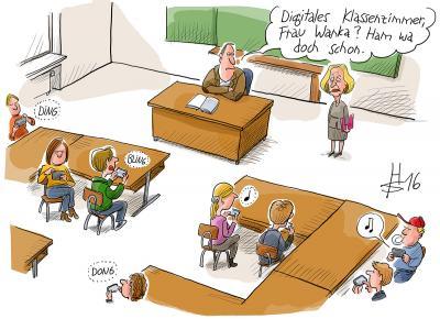 Cartoon von Heiko Sakurai