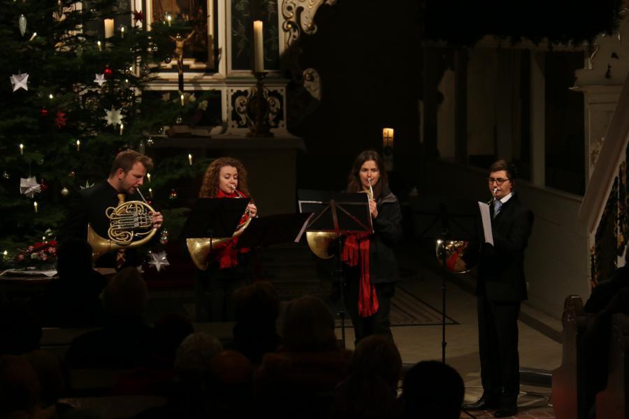 Foto der Galerie: Konzert mit dem GunewaldHornEnsemble