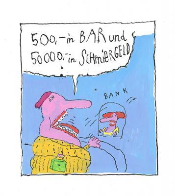 Ottfried Zielke - Cartoon Ende d. 1990er Jahre