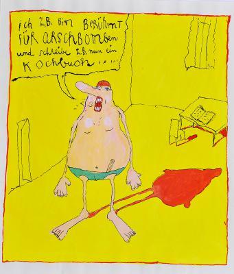 Ottfried Zielke - Cartoon 1996