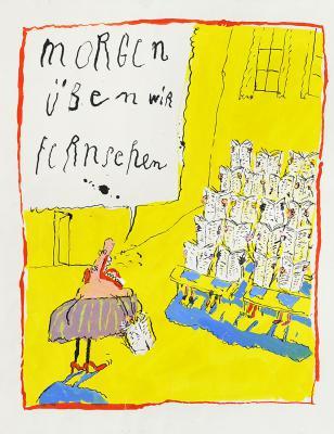 Ottfried Zielke - Cartoon 1995