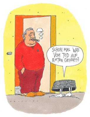 Cartoon von Andreas Prüstel