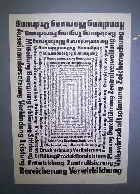Joseph W. Huber - Konkrete Poesie - Graphikmappe
