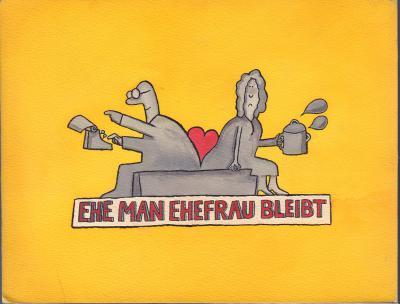 Frank Leuchte - Grafik für das DDR-Fernsehen 1980er Jahre (Sammlung Museen für Humor und Satire)