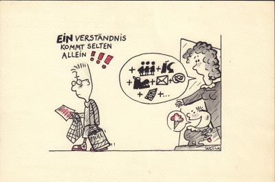 Frank Leuchte - Karikatur