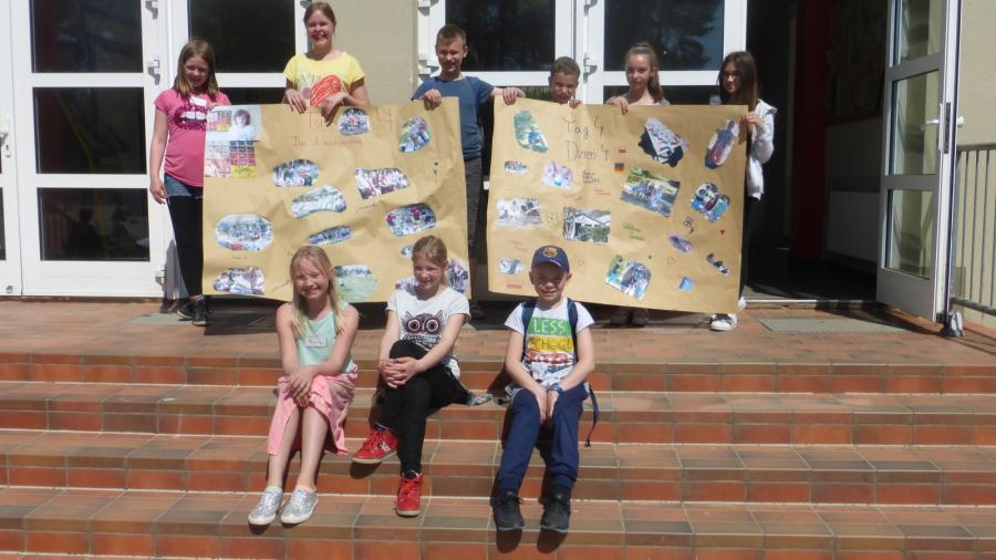 Foto der Galerie: Besuch unserer Partnerschule aus Swinemünde Teil 2