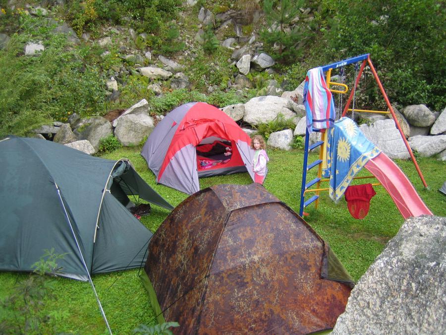 Foto der Galerie: 15.08.2011: Zelten am Weiher