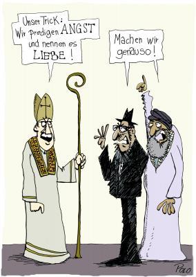 Liebe - Karikaturen zum Reformationsjubiläum - Cartoon von POLO