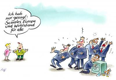 Hoffnung - Karikaturen zum Reformationsjubiläum - Cartoon von Reinhard Alff