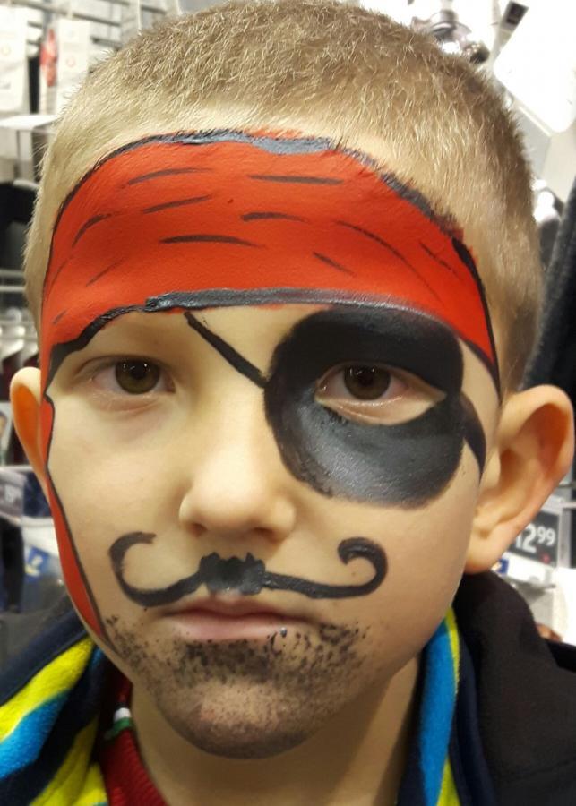 kinderschminken pirat