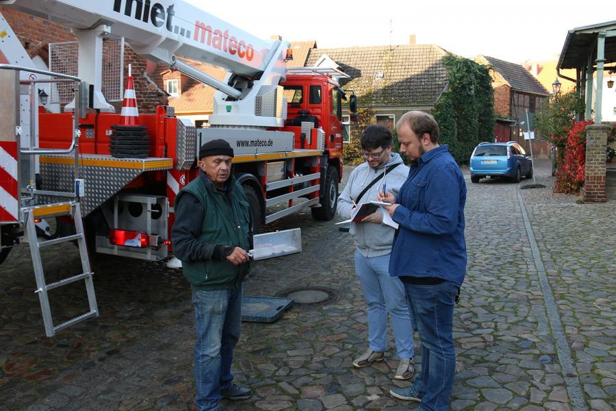 Foto der Galerie: Aktion Turmkreuz in Kremmen