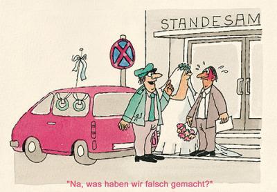 Karikatur von Heinz Jankofsky