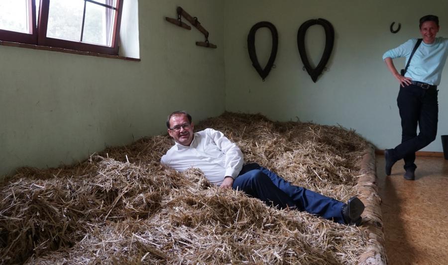 Foto der Galerie: Minister Vogelsänger besucht Öko-Betriebe in Südbrandenburg