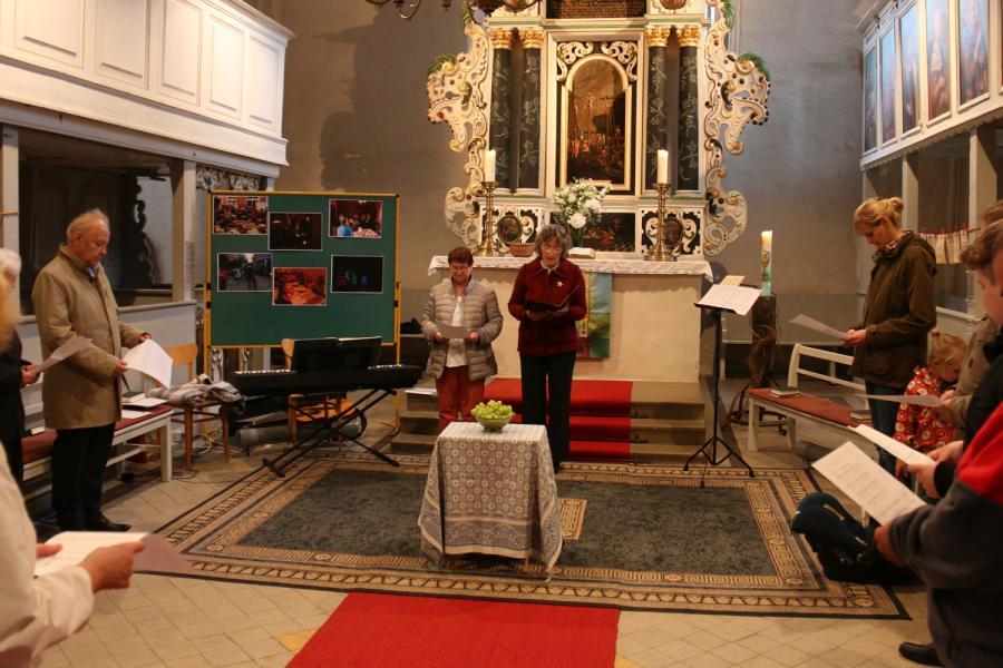 Foto der Galerie: Mirjam-Gottesdienst am 07.10. in Kremmen