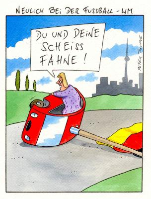 Cartoon von Peter Thulke