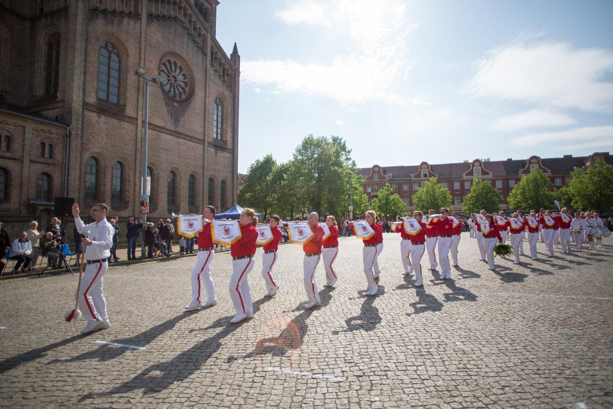 Foto der Galerie: 1.05.2019 - Saisoneröffnung Fanfarenzug Potsdam