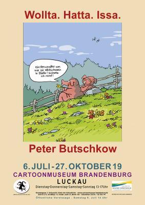 Plakatmotiv von Peter Butschkow