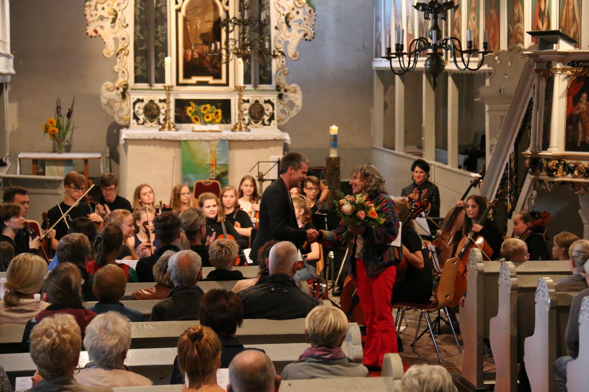 Foto der Galerie: Kreismusikschule OHV im Konzert