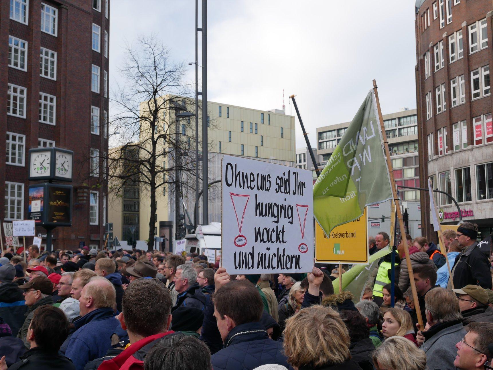 Foto der Galerie: Kooperation statt Verbote - Demo in Hamburg