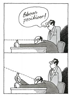 Karikatur - Harri Parschau 1989