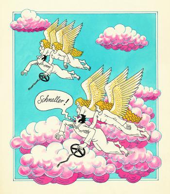 Titelkarikatur - Harri Parschau 1984