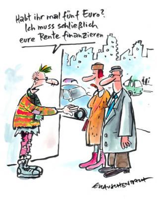 (c) Cartoon von Erich Rauschenbach
