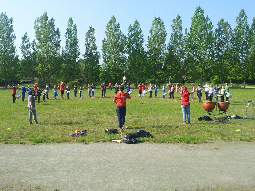 Foto der Galerie: 26. April 2014 - Fanfarenzug Potsdam - Nachwuchs-Trainingslager