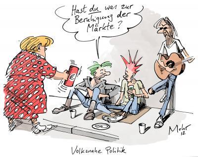 Karikatur von Burkhard Mohr