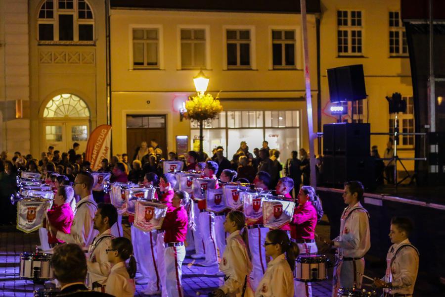 Foto der Galerie: 29.08.2014 - Fanfarenzug Potsdam - Auftritt Wittstock/Dosse