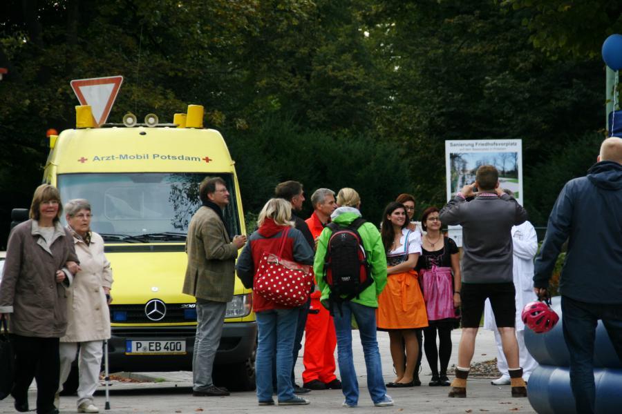 Foto der Galerie: 25.09.2014 - Fanfarenzug Potsdam - Unser Nachwuchs auf Potsdamer Wiesn