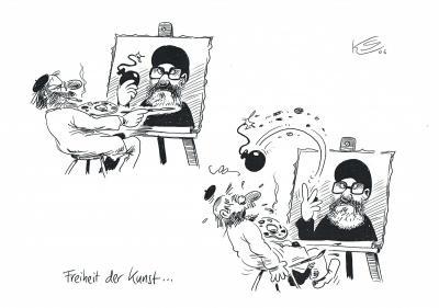 Klaus Stuttmann Karikaturenstreit 2006
